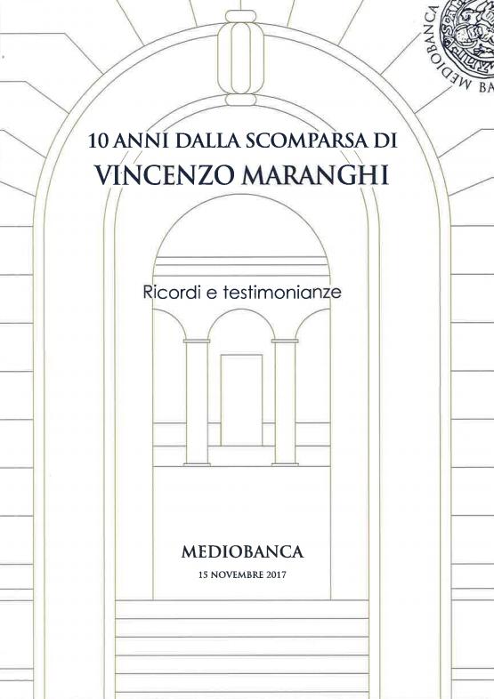 10 anni dalla scomparsa di Vincenzo Maranghi