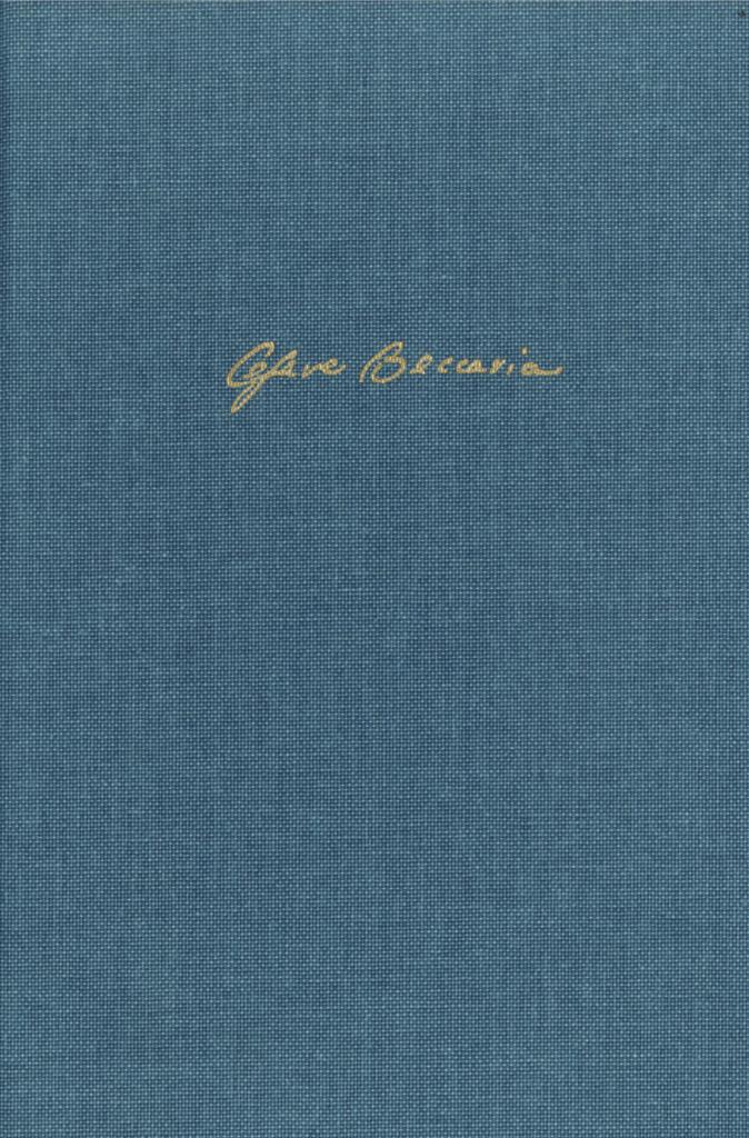 Edizione nazionale delle opere di Cesare Beccaria